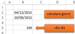 brand new d2fdc 3747c Le Formule e Funzioni di Excel per calcolare giorni, mesi e ...