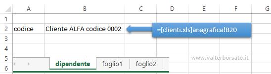 Excel | Importare dati da una cartella di lavoro