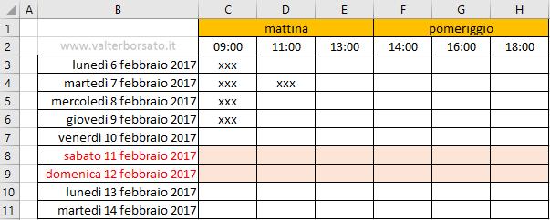 Calendario Con Excel.Creare Un Calendario Personalizzato Con Excel Come Creare