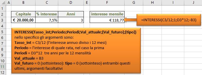 Funzioni INTERESSI; RATA; NUM.RATE e TASSO. Applicare le Funzioni finanziarie in Excel  Formule ...