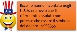 Excel | Rifermento di cella assoluto - il simbolo del dollaro